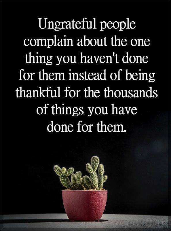 #People #complain #about #thing People complain about one thing...