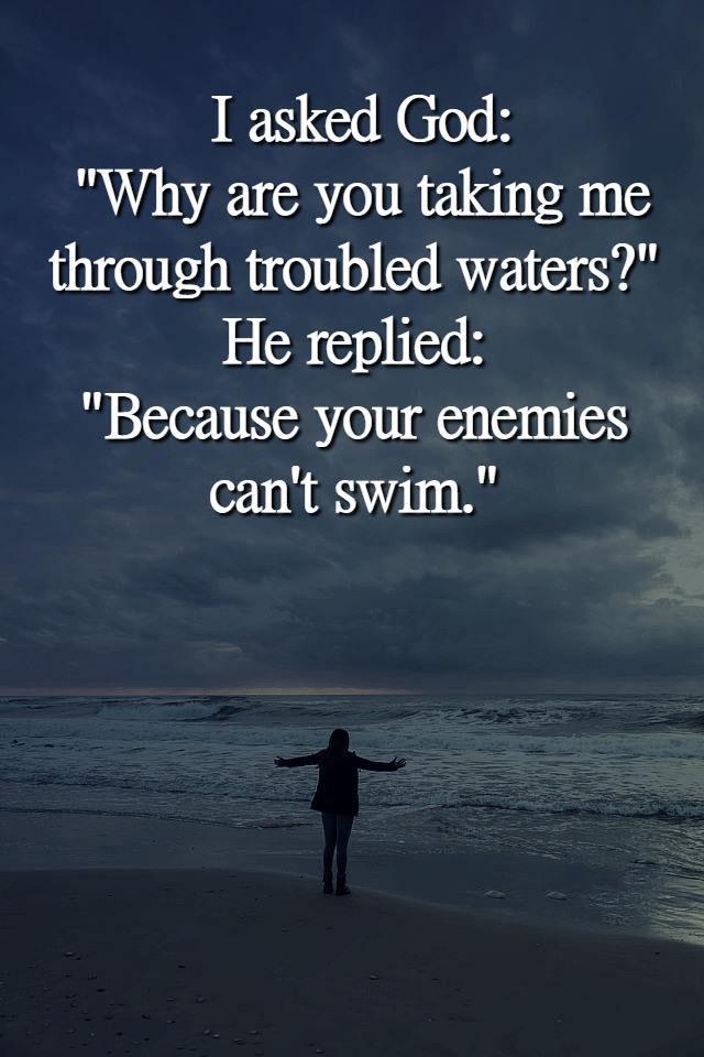 #asked #god #why I asked God