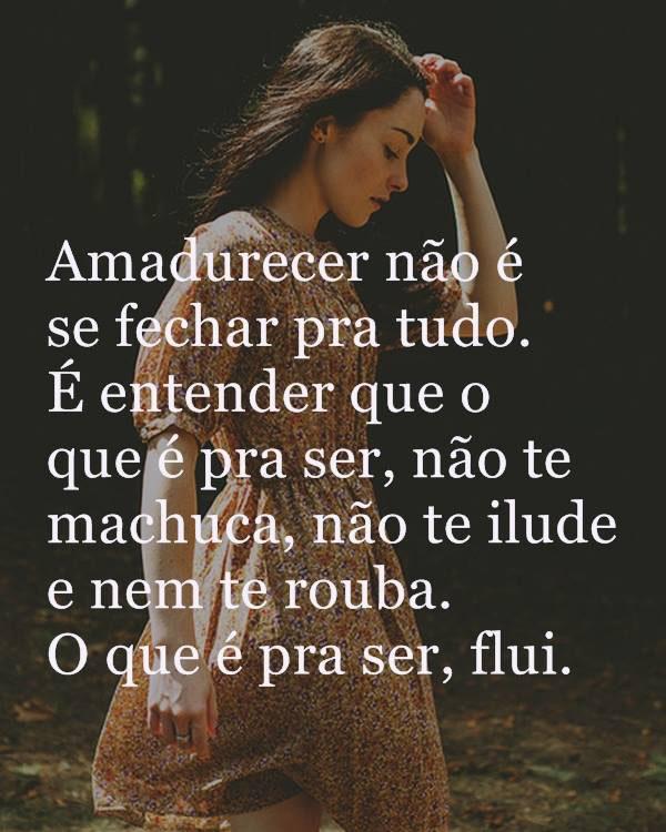 #Amadurecer #fechar #tudo Amadurecer não é se fechar pra tudo.