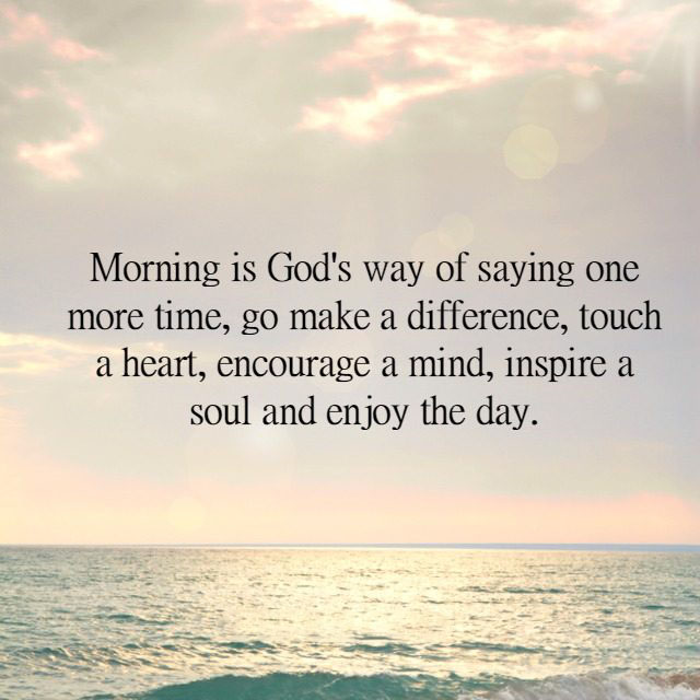 #enjoy #day #make #difference Enjoy the day.