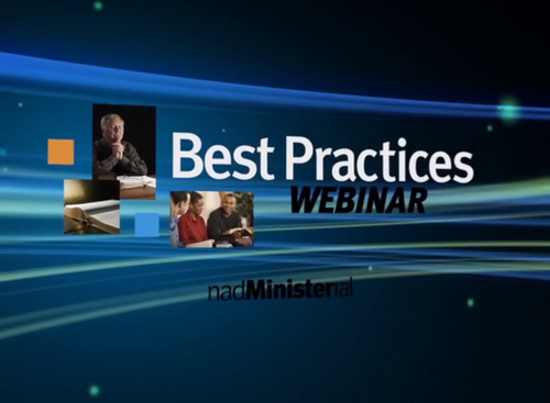 NAD - Best Practices Webinars