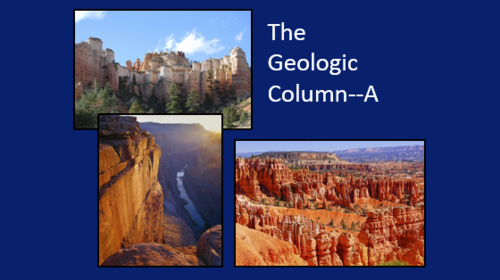 Creation-Origins Resources: Geologic Column A