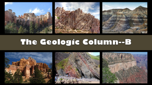 Creation-Origins Resources: Geologic Column B