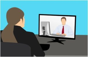 Sitting, Person, Monitor, Electronics, Display, Screen, Interview