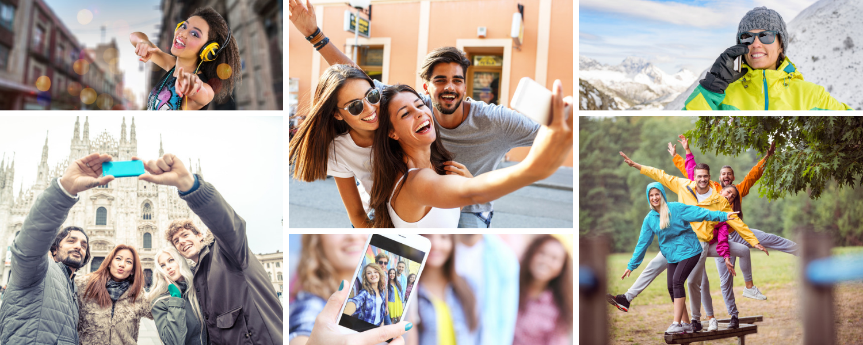 Advertisement, Collage, Poster, Face, Person, Sunglasses, People, Helmet, Smile, Portrait
