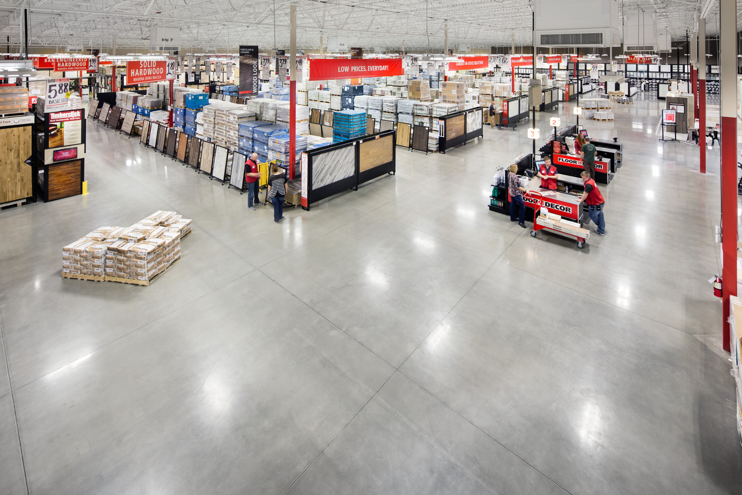 Market, Supermarket, Generator, Machine, Warehouse, Building, Person, Floor