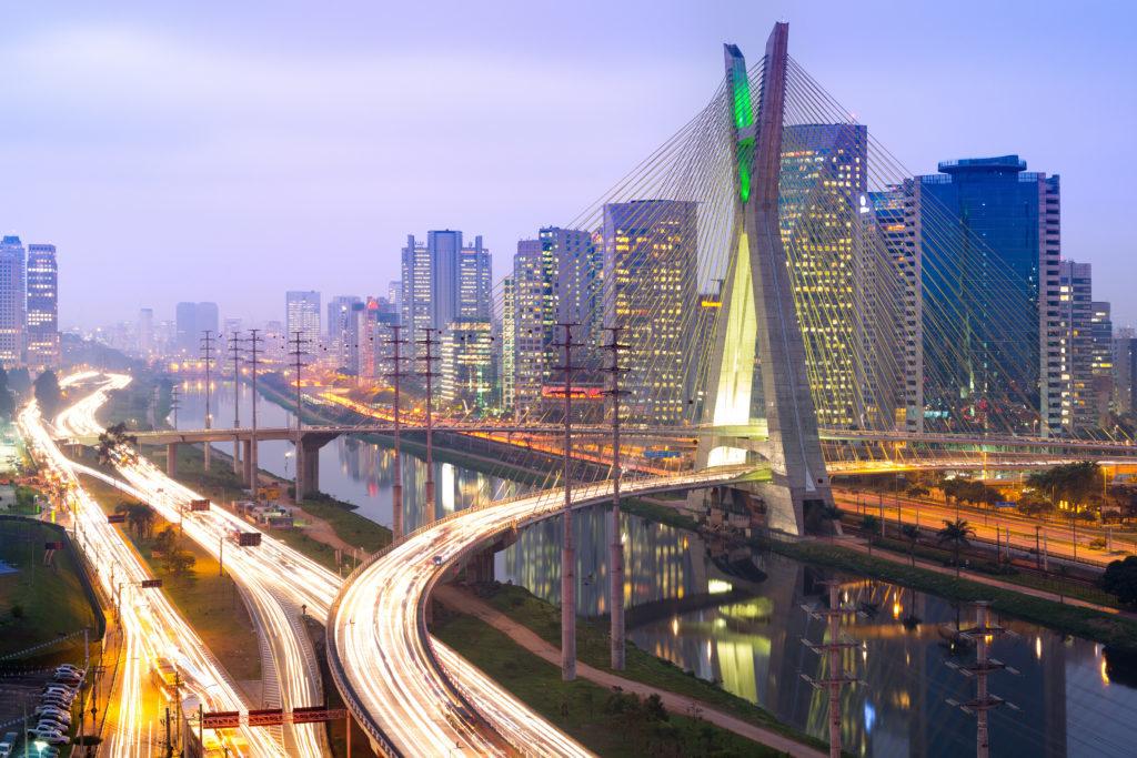 Road, Freeway, Urban, City, Building, Metropolis, Overpass, Highway, High Rise, Bridge