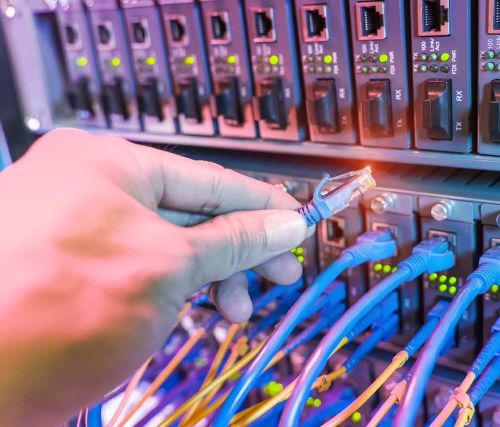 Computer, Electronics, Server, Hardware, Person, Wiring