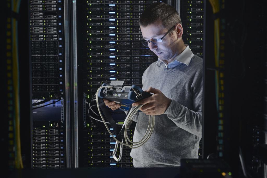 Person, Server, Computer, Electronics, Hardware