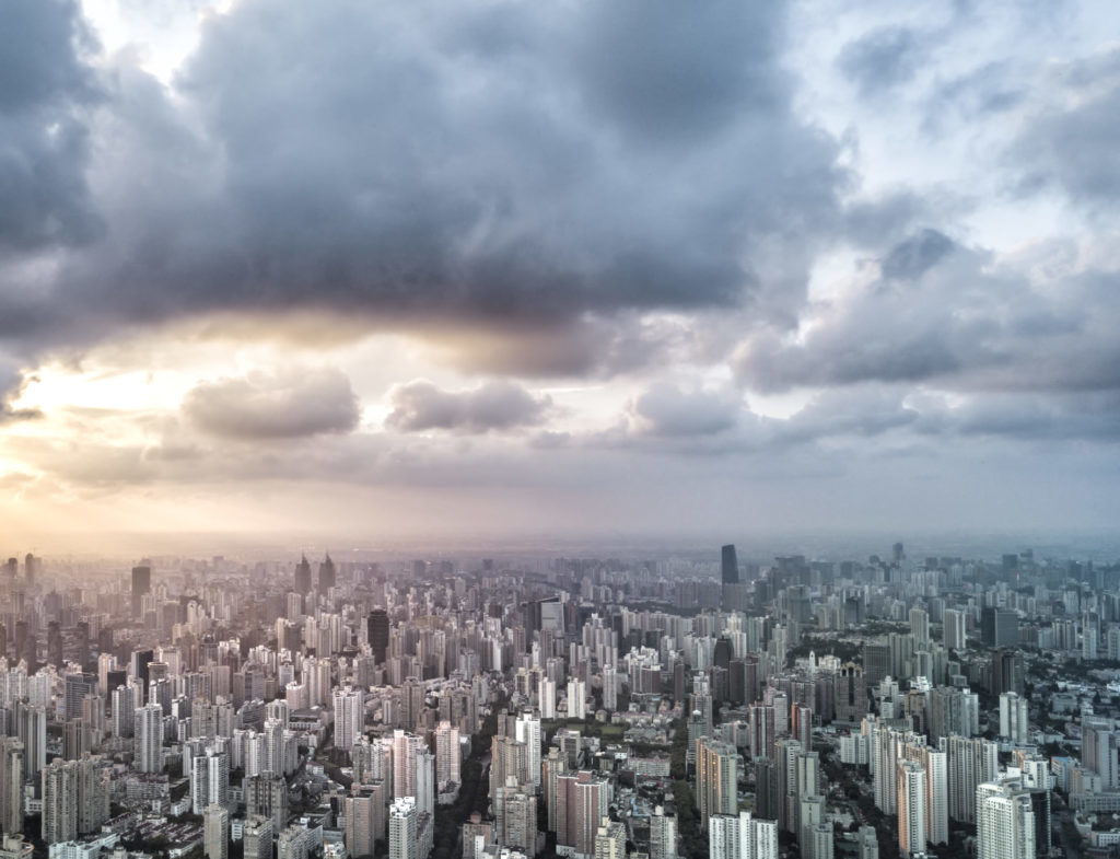 Scenery, Nature, Outdoors, Landscape, City, Urban, Building, Metropolis, High Rise, Aerial View