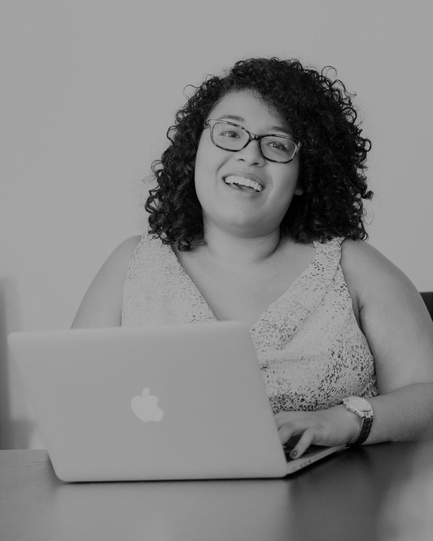 Pc, Computer, Electronics, Laptop, Person, Glasses, Face, Hair, Female, Portrait