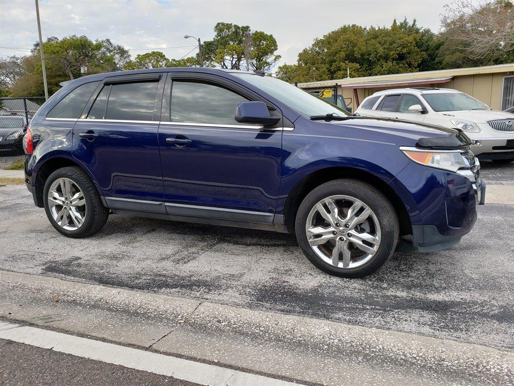 2011 Blue Ford Edge Suncoast Quality Cars Llc