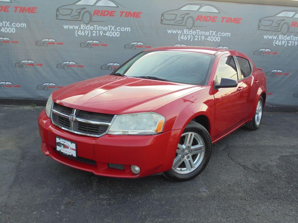 2009 Red Dodge Avenger Ride Time