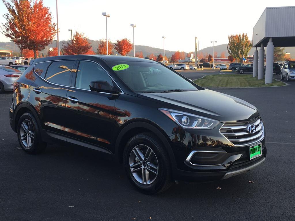 2018 Black Hyundai Santa Fe Sport Midway More Photos