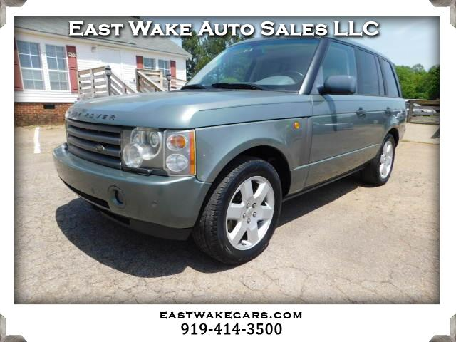 2003 Light Green Land Rover Range Rover - East Wake Auto Sales