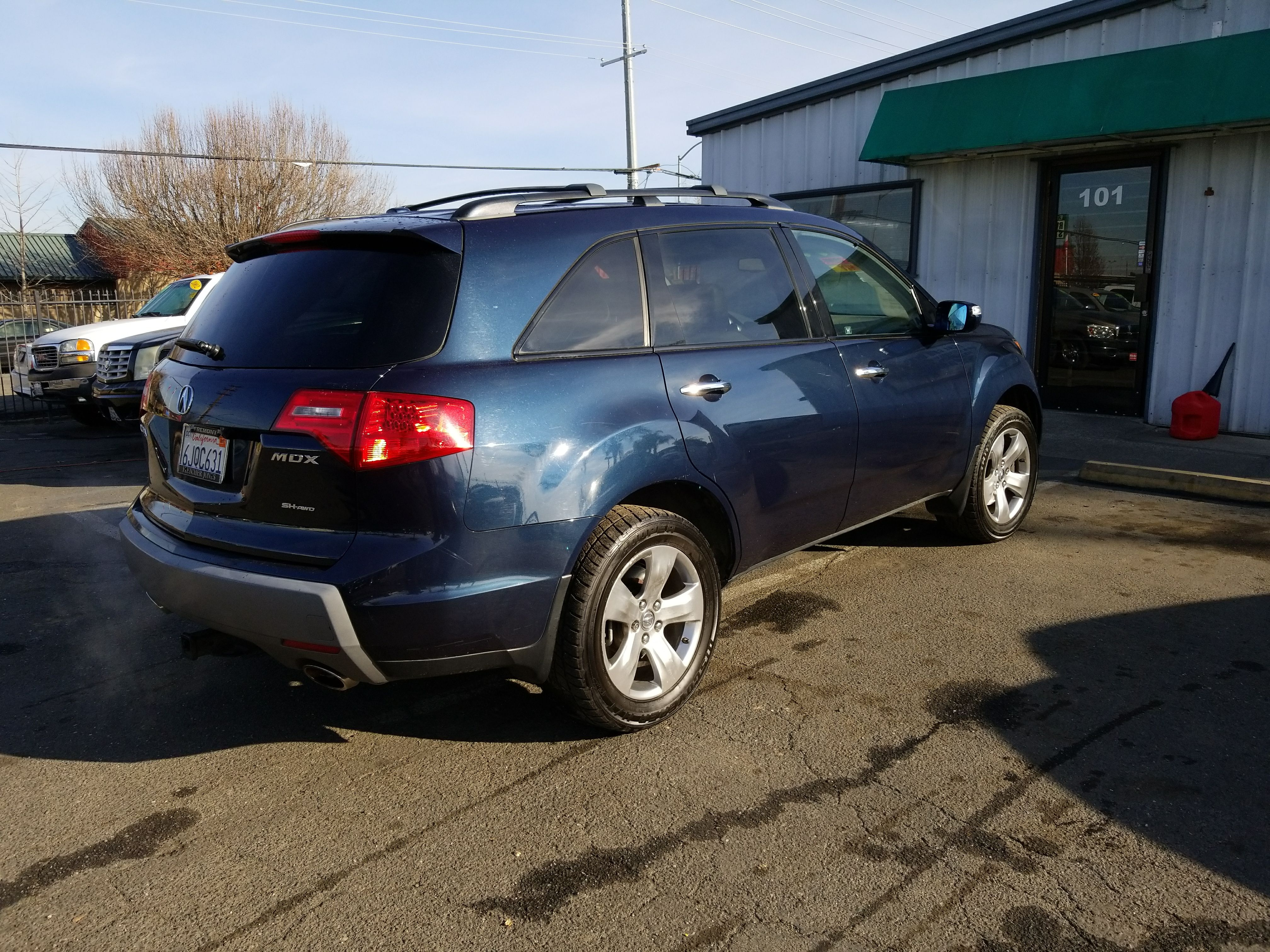 composite technology sh awd large w mocha mdx groovecar acura suv package metallic research