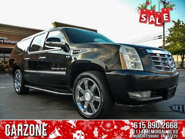 2009 Black Cadillac Escalade Esv Carzone Of Murfreesboro