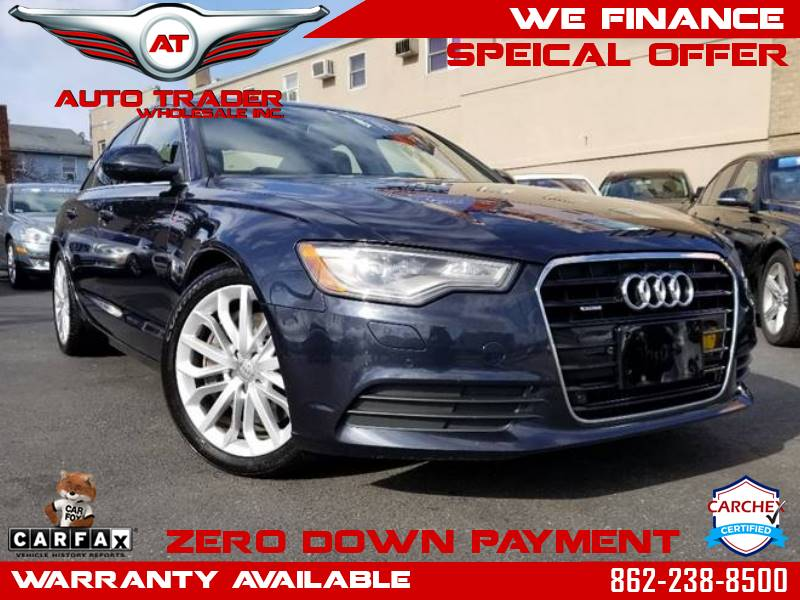 2012 Blue Audi A6 Auto Trader Wholesale All Credit Financing