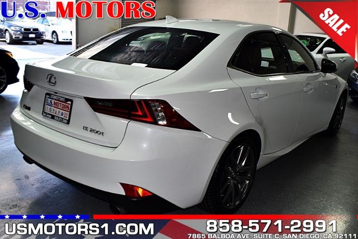 2016 Ultra White Lexus IS 200t - US Motors