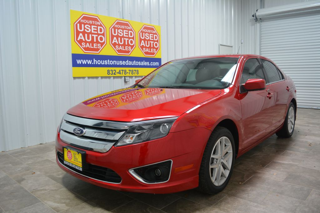 Houston Used Auto Sales >> 2012 Red Ford Fusion Houston Used Auto Sales