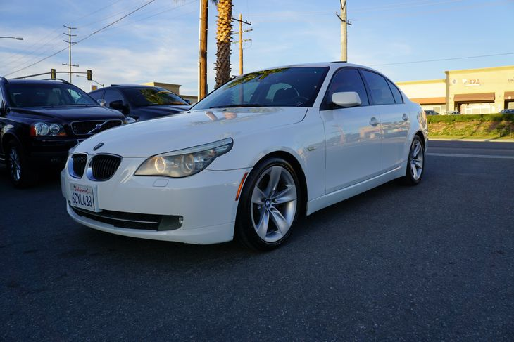 2008 Alpine White BMW 5 Series - All In Auto Group