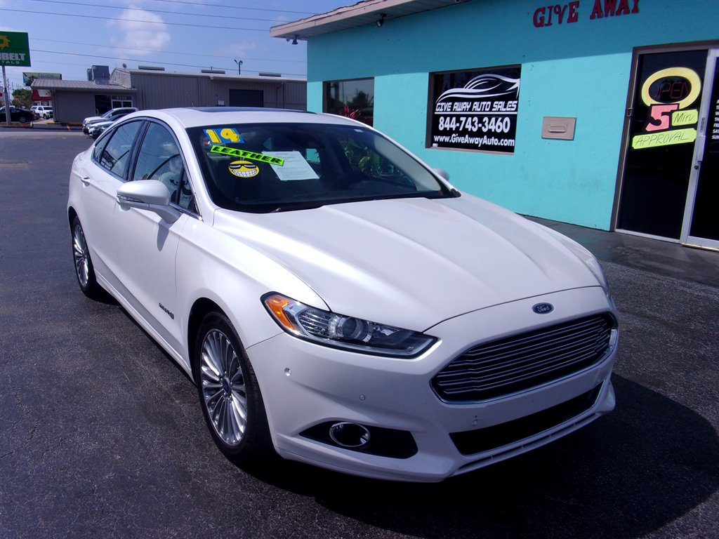 Giveaway Auto Sales >> 2014 White Ford Fusion Giveaway Auto Sales