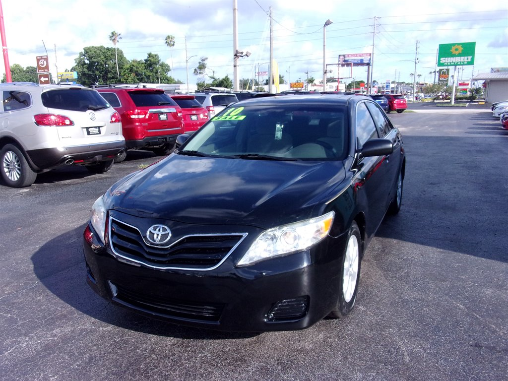 Giveaway Auto Sales >> 2010 Black Toyota Camry Giveaway Auto Sales