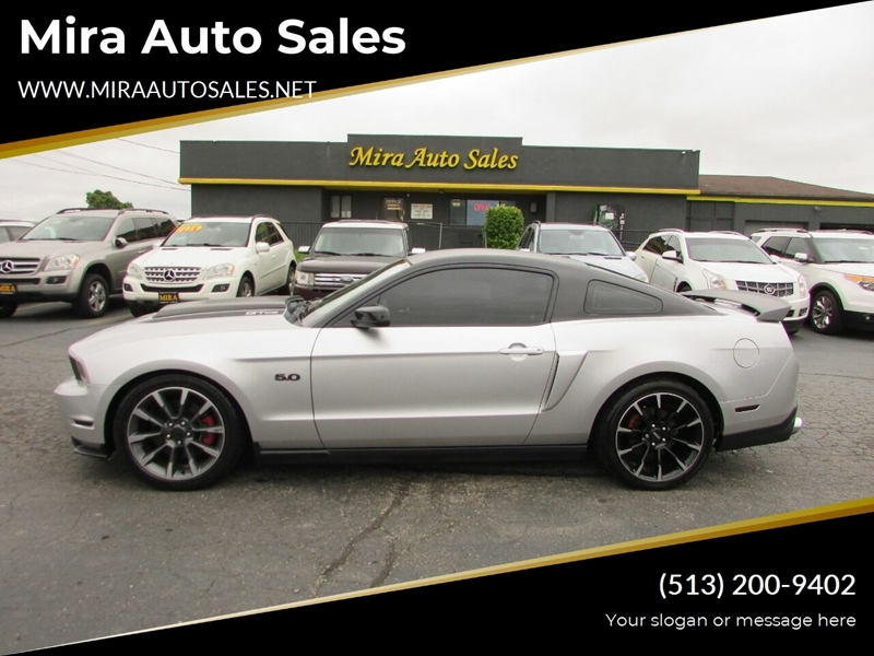 Mira Auto Sales >> 2012 Gray Ford Mustang Over 200 Quality Pre Owned Vehicles