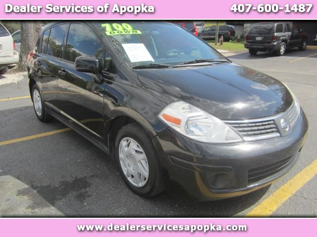 2009 Black Nissan Versa Dealer Services