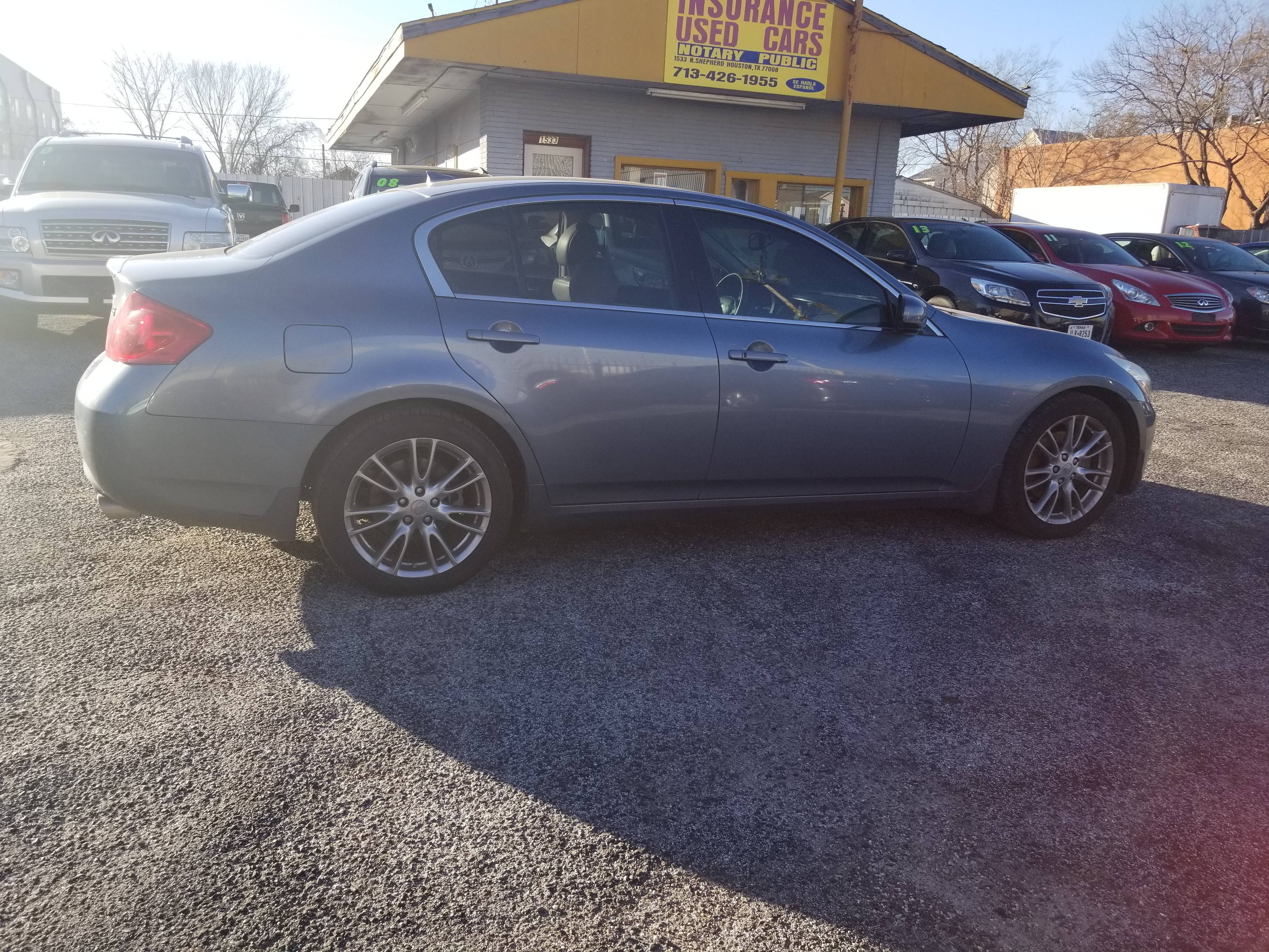 rwd coupe for used sale infiniti