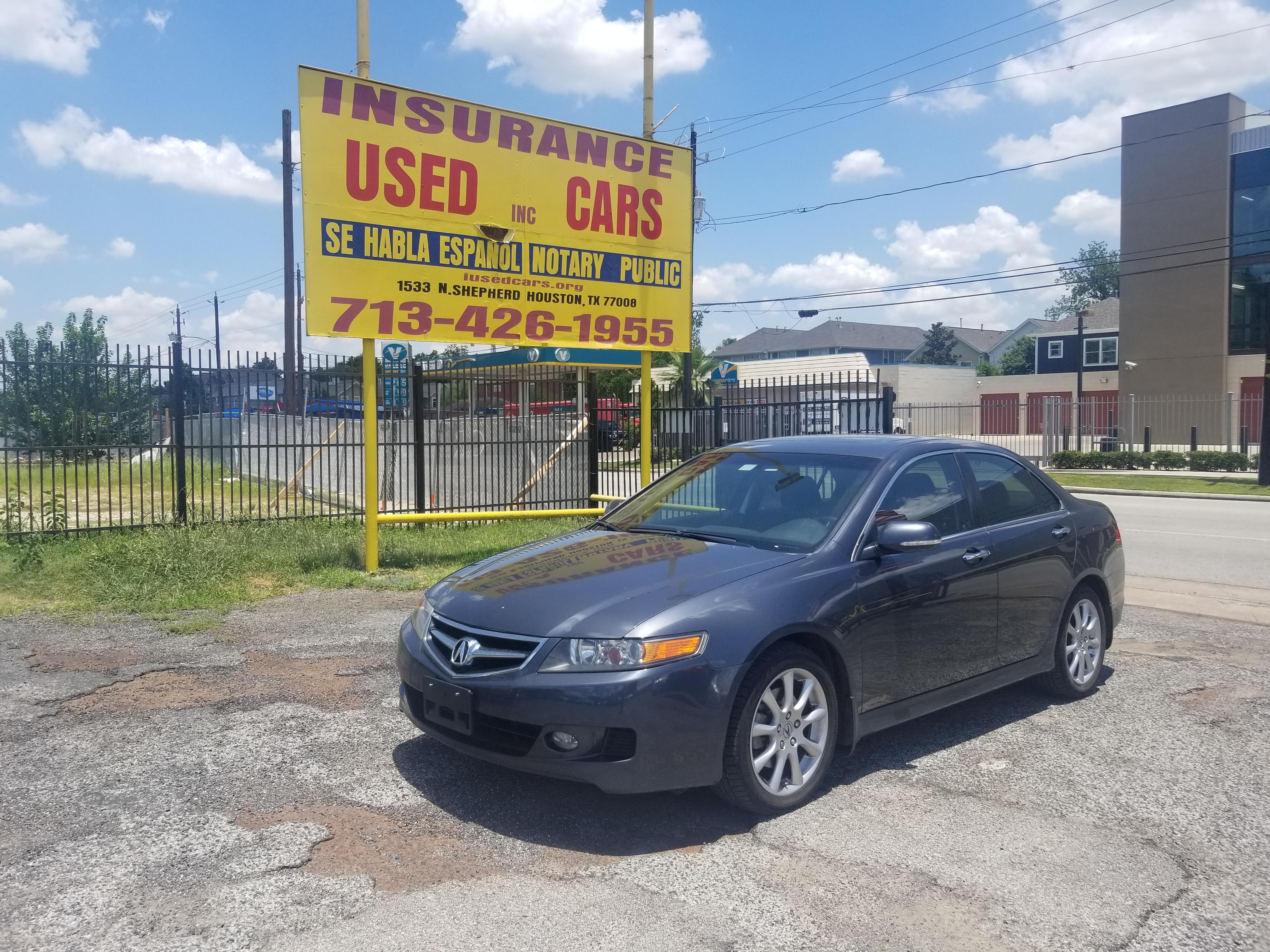 Grey Acura TSX Insurance Used Cars Inc - Acura insurance