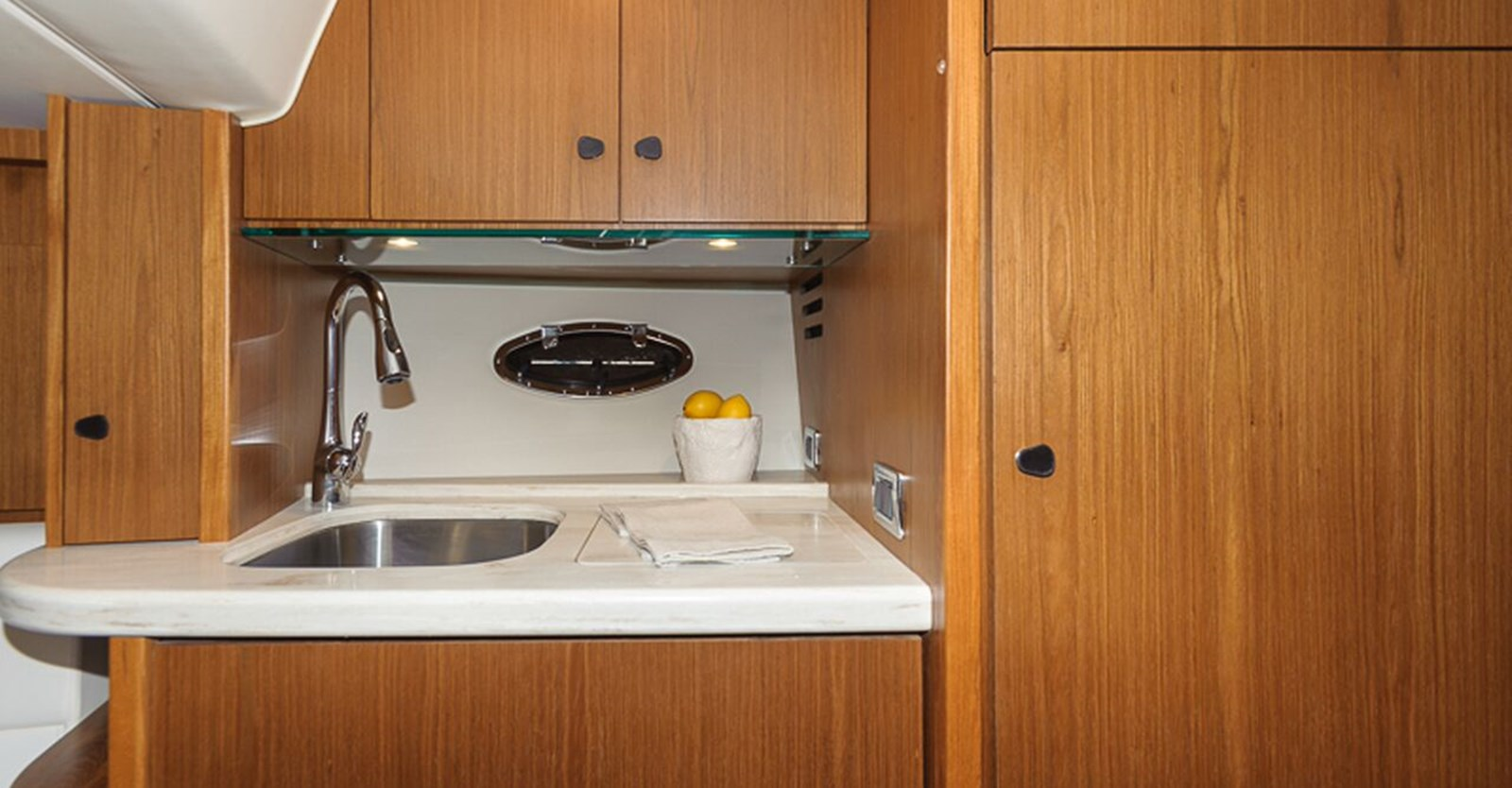 New Tiara 36 Yacht Galley
