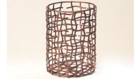 Image of a Bronze Wire Hurricane - Small