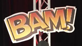 """Image of a """"Bam!"""" Sign"""