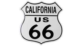 """Image of a """"California Route 66"""" Sign"""
