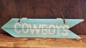 """Image of a """"Cowboys"""" Sign"""