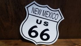 """Image of a """"New Mexico Route 66"""" Sign"""