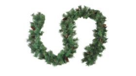 Image of a 6' Decorated Garland