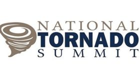 Image of a 2' Branded Spandex Circle - National Tornado Summit
