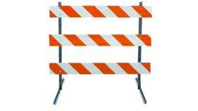 Image of a 6' Barricade