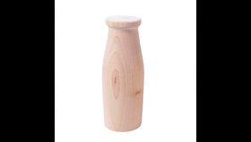 Image of a 1 lb Wooden Milk Bottle Rental