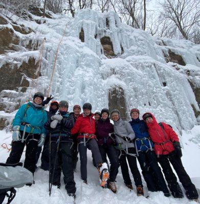 Ice Climbing Winona