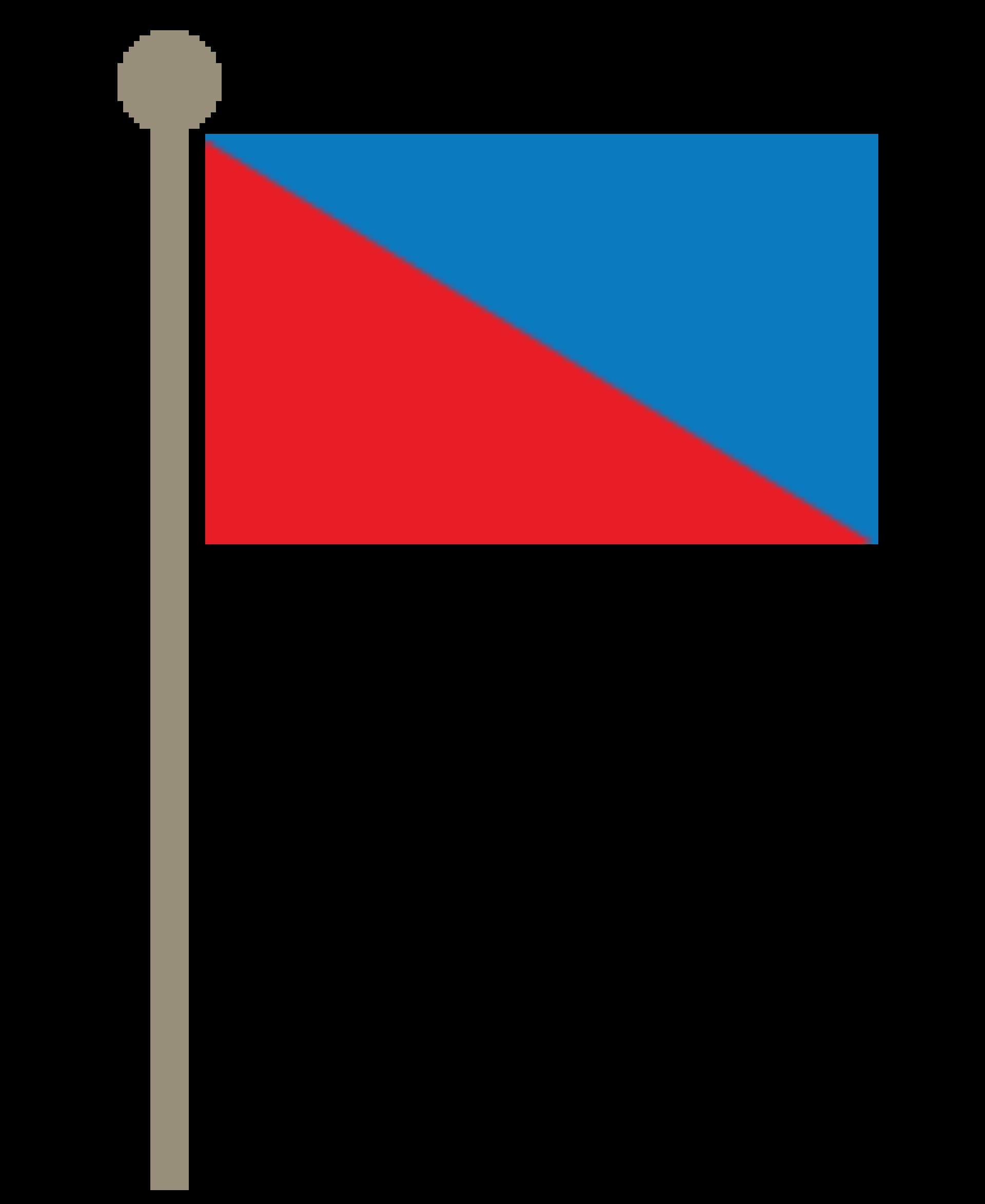 Blueredflag