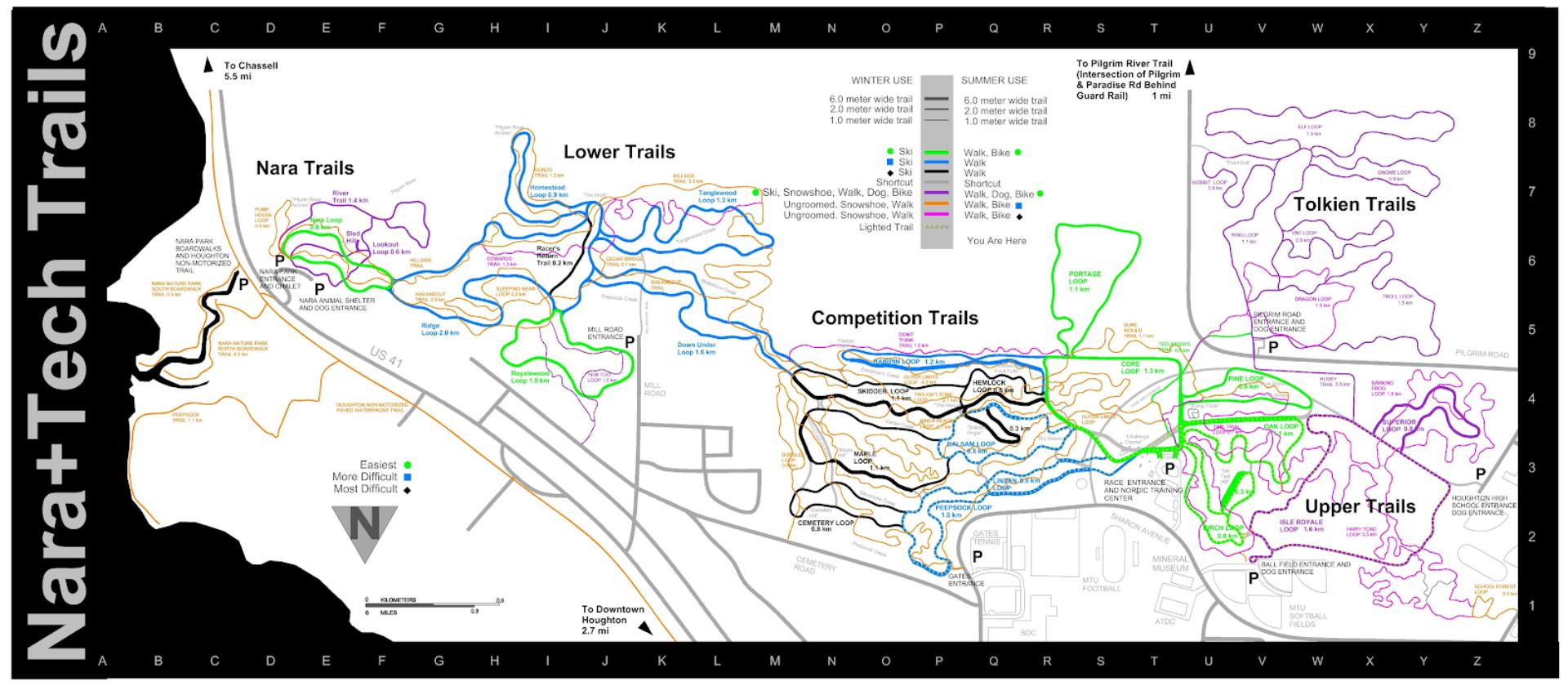 Michigain Tech Trails
