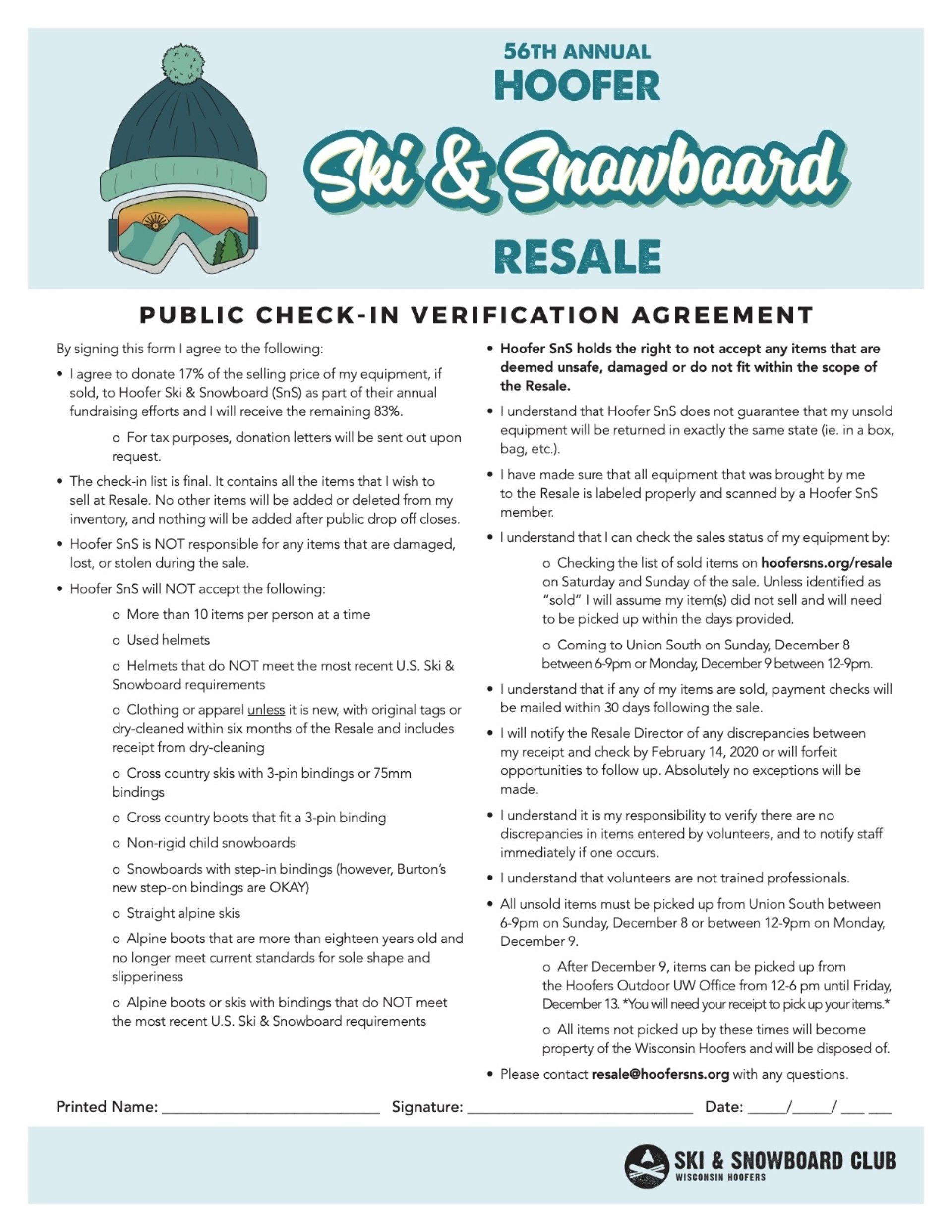 Resale PCI agreement 2019