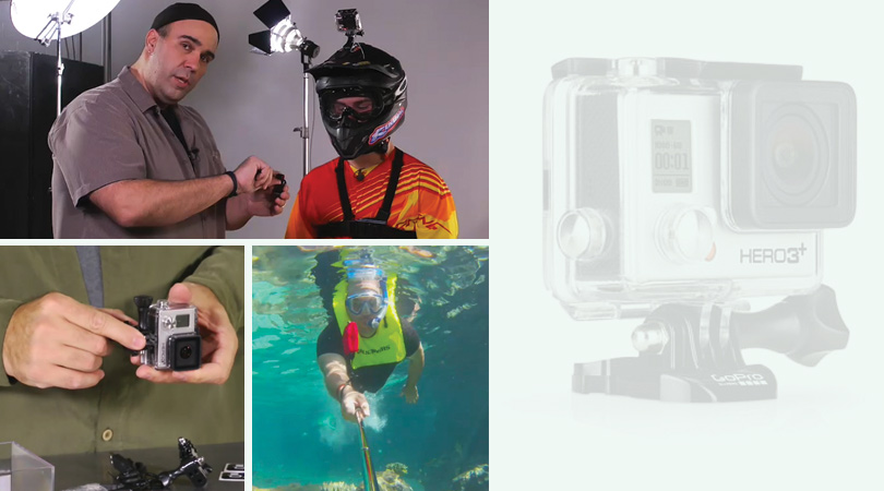 "lynda.com 免费课程 Shooting with the GoPro HERO: Fundamentals丨""反""斗限免"