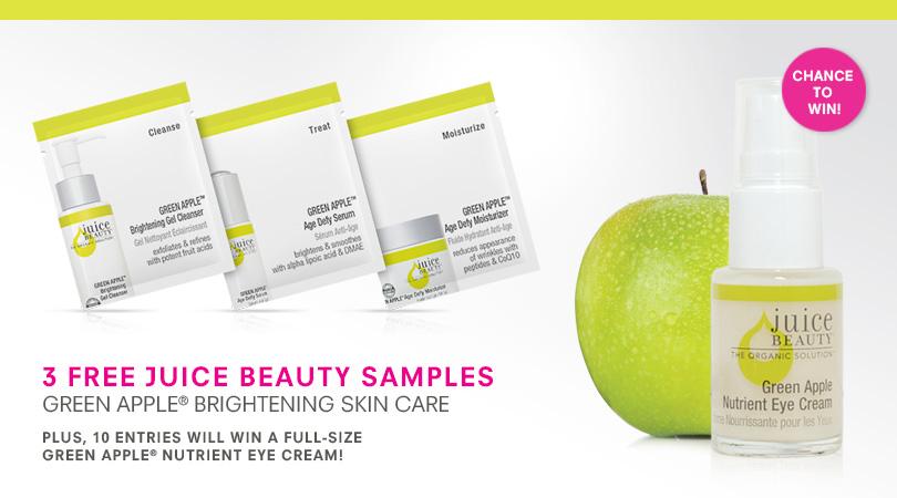 FREE 3 Juice Beauty Green Appl...