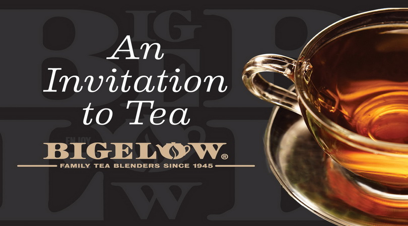 FREE Bigelow tea sample...