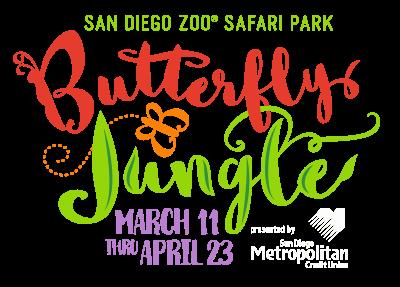 San Diego Zoo Safari Park Butterfly Jungle presented by San Diego Metropolitan Credit Union