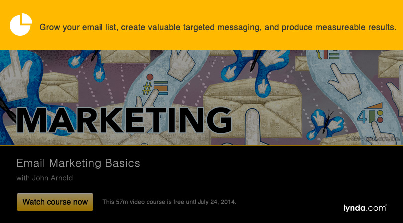"lynda.com 免费课程 Email Marketing Basics丨""反""斗限免"